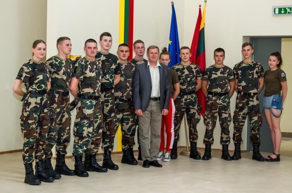 Vilniaus JPB atstovės domėjosi Pasieniečių mokyklos kursantų patirtimi ERASMUS+ programos mobilumo projekte