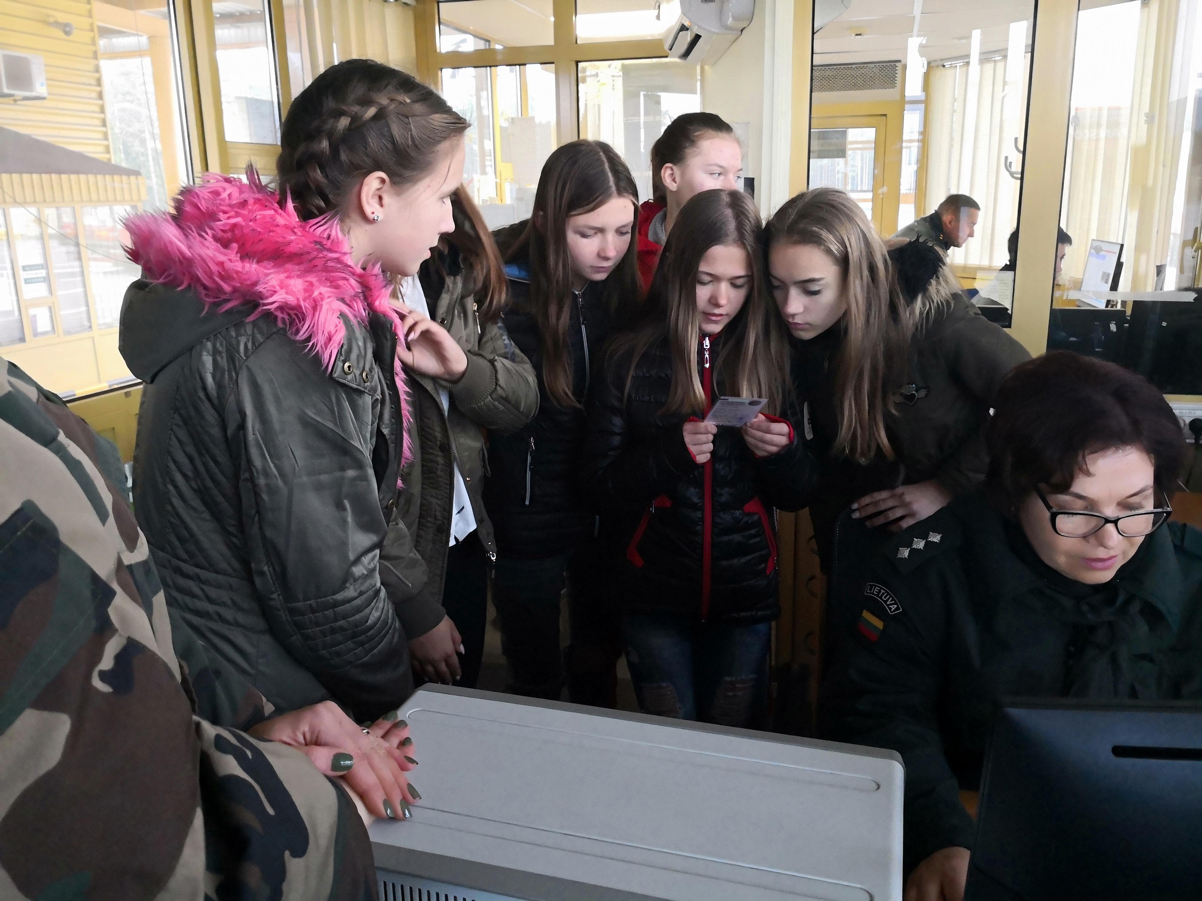 Lavoriškių užkardos JPB narius domino pasieniečių veikla