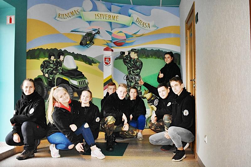 Vilniaus pasienio rinktinės JPB vaikams organizuota išvyka į Užsieniečių registracijos centrą, Ignalinos rinktinę ir Ignalinos atominę elektrinę
