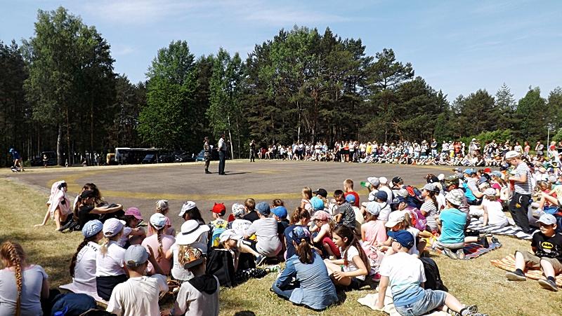Vilniaus pasienio rinktinei atvėrus duris vasarai sugužėjo daugiau nei 600 interesantų
