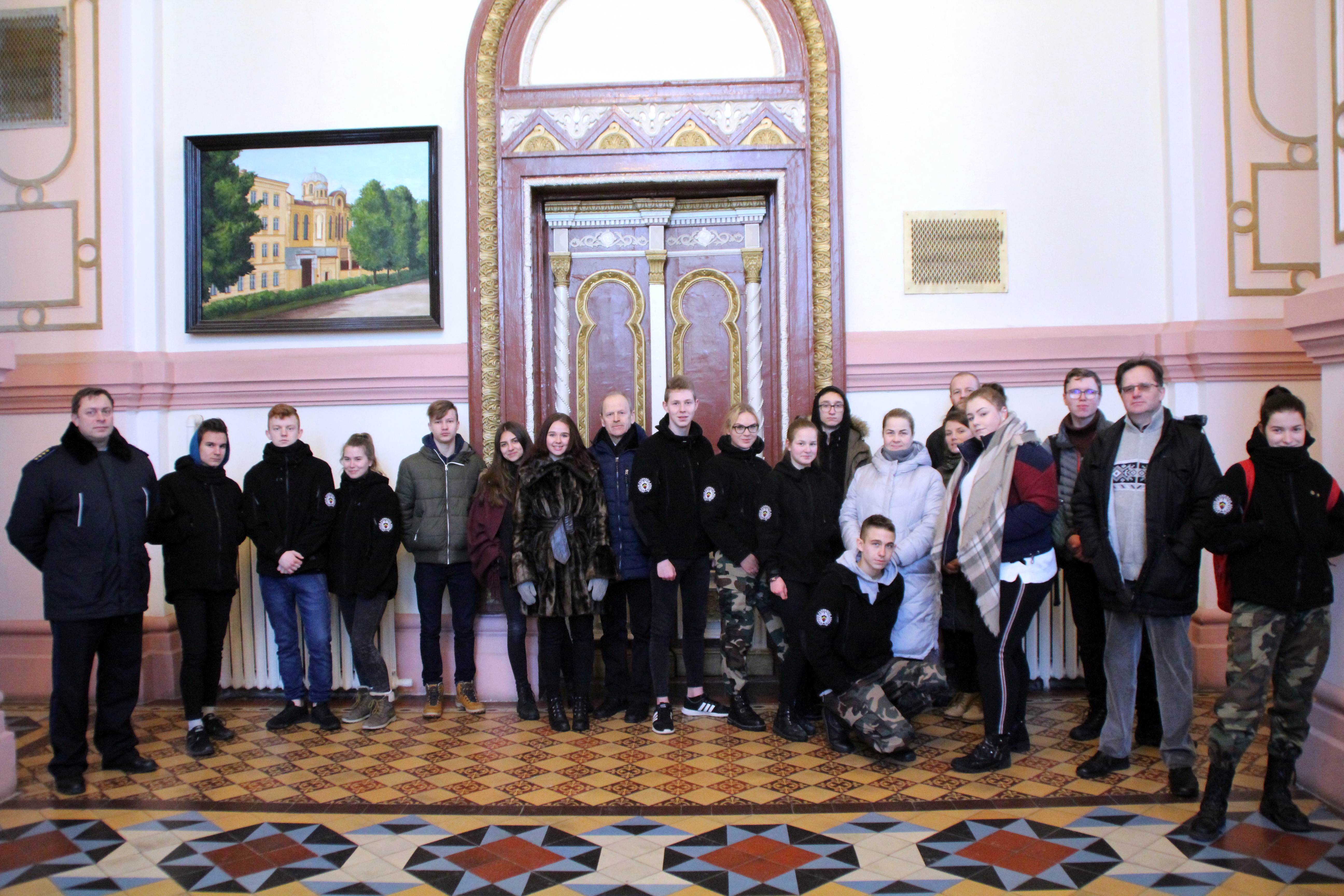 Vilniaus JPB nariai prevencijos tikslais lankėsi kalėjime