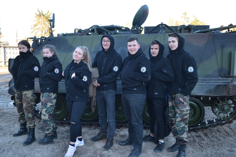 Vilniaus pasienio rinktinės jaunųjų pasieniečių išvyka į Ruklą