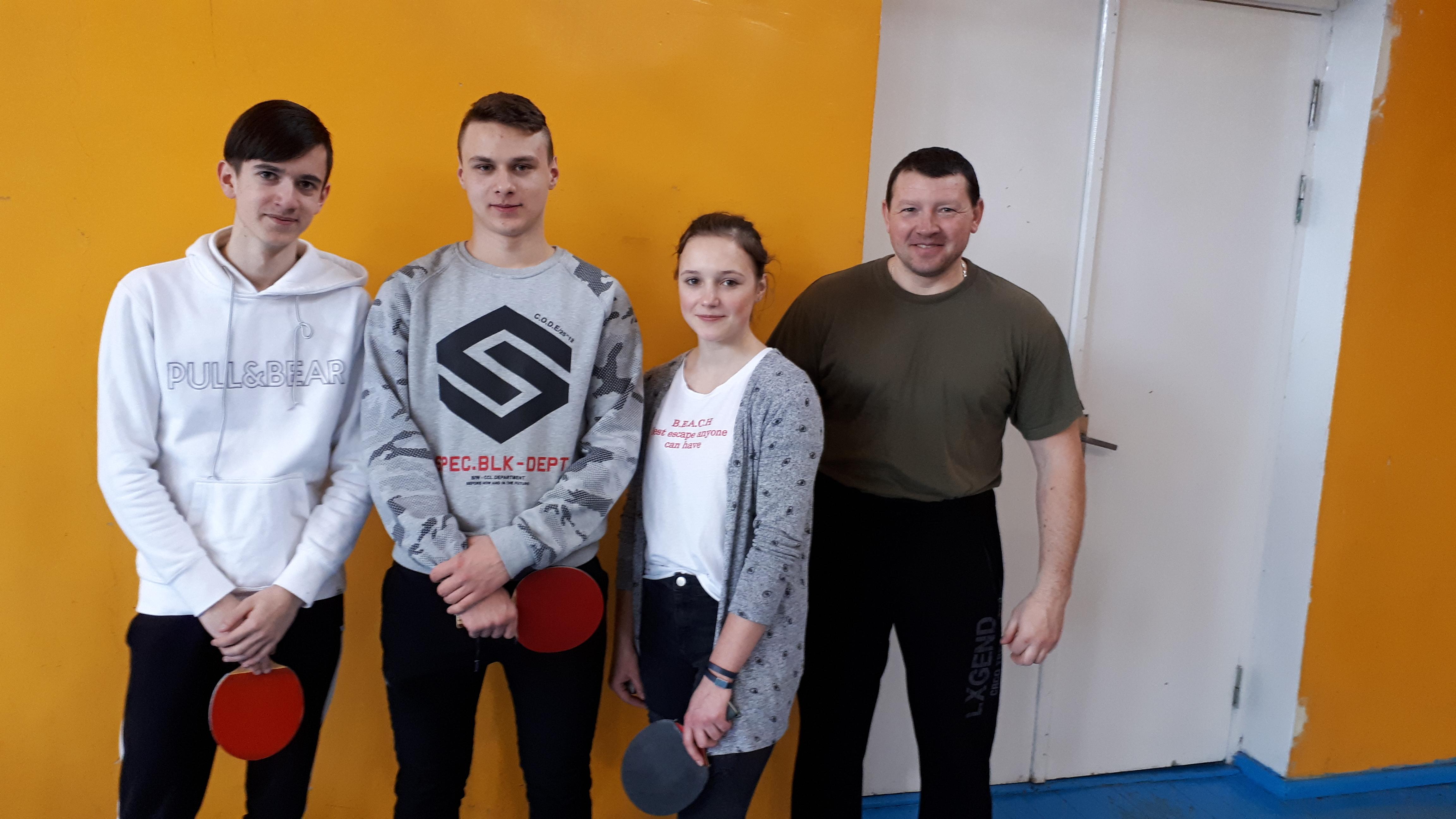 Vidiškių JPB nariai dalyvavo stalo teniso varžybose