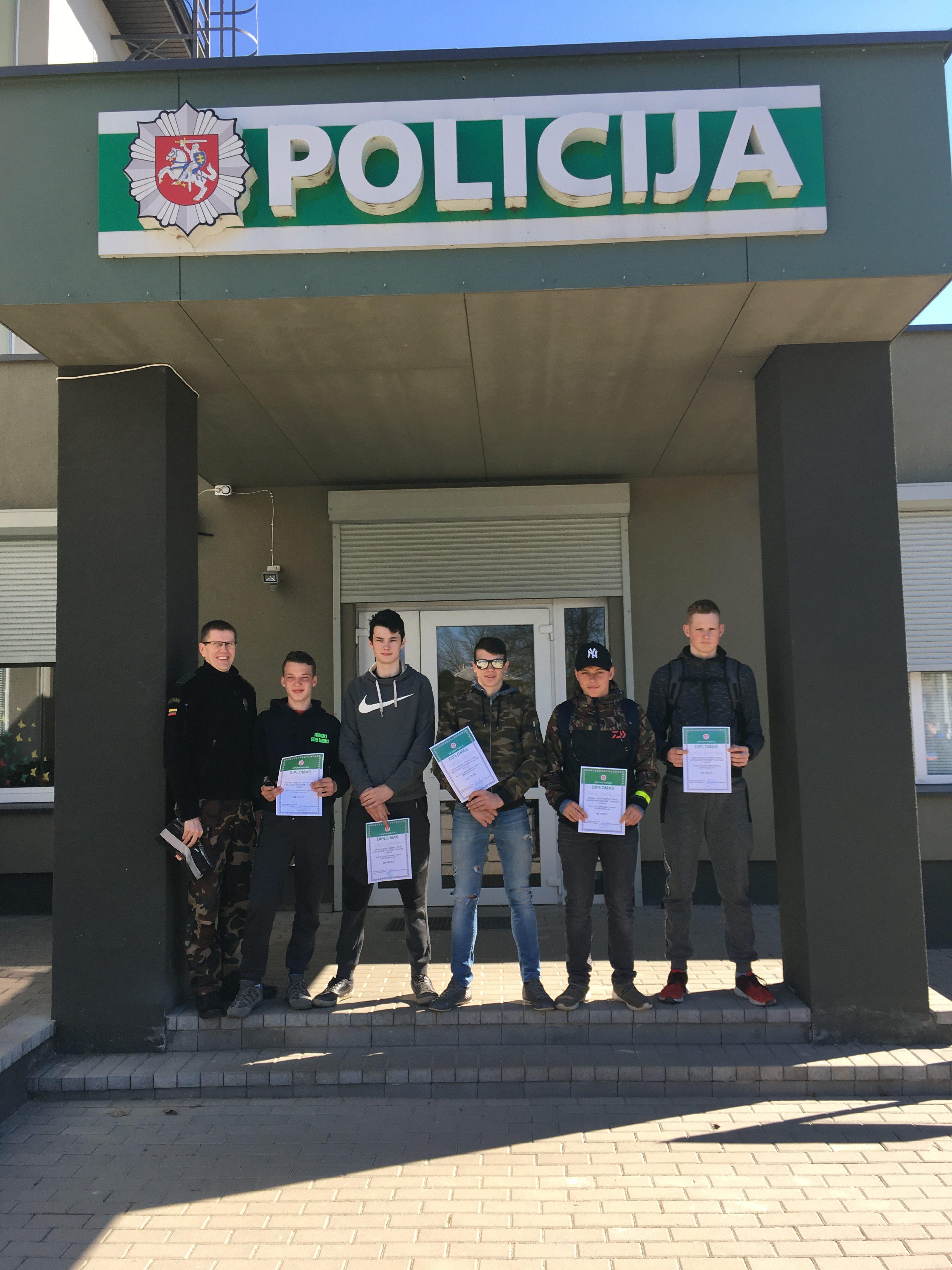 """JPB nariai dalyvavo teisinių žinių konkurse """"TEMIDĖ"""""""