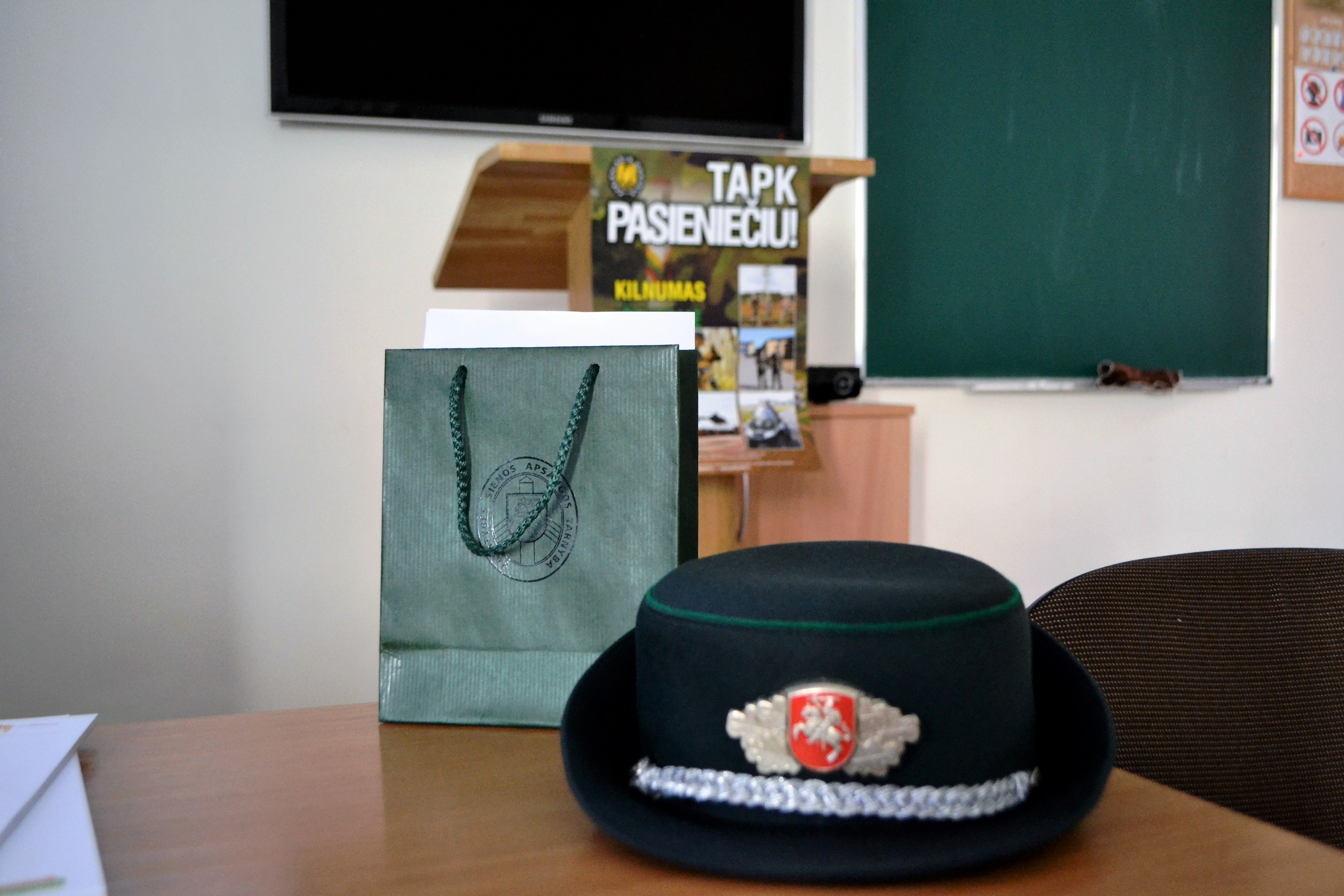 Iniciatyvūs Vilniaus pasienio rinktinės JPB nariai organizavo viktoriną