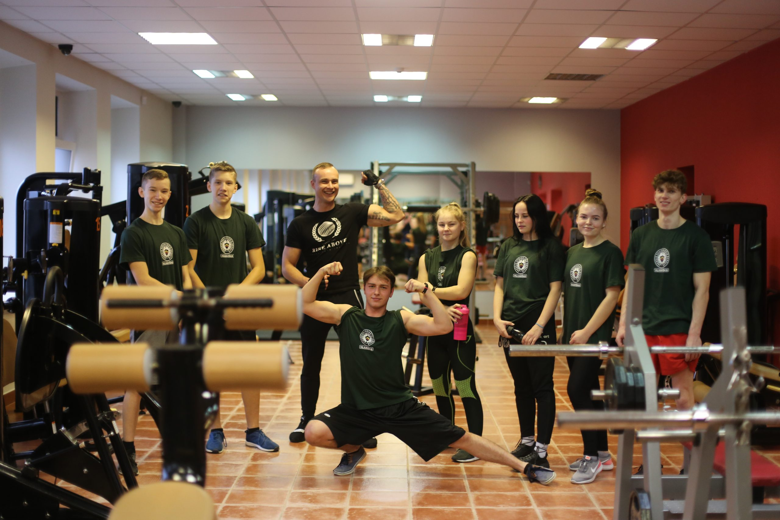 Vilkaviškio JPB nariai propaguoja sveiką gyvenimo būdą