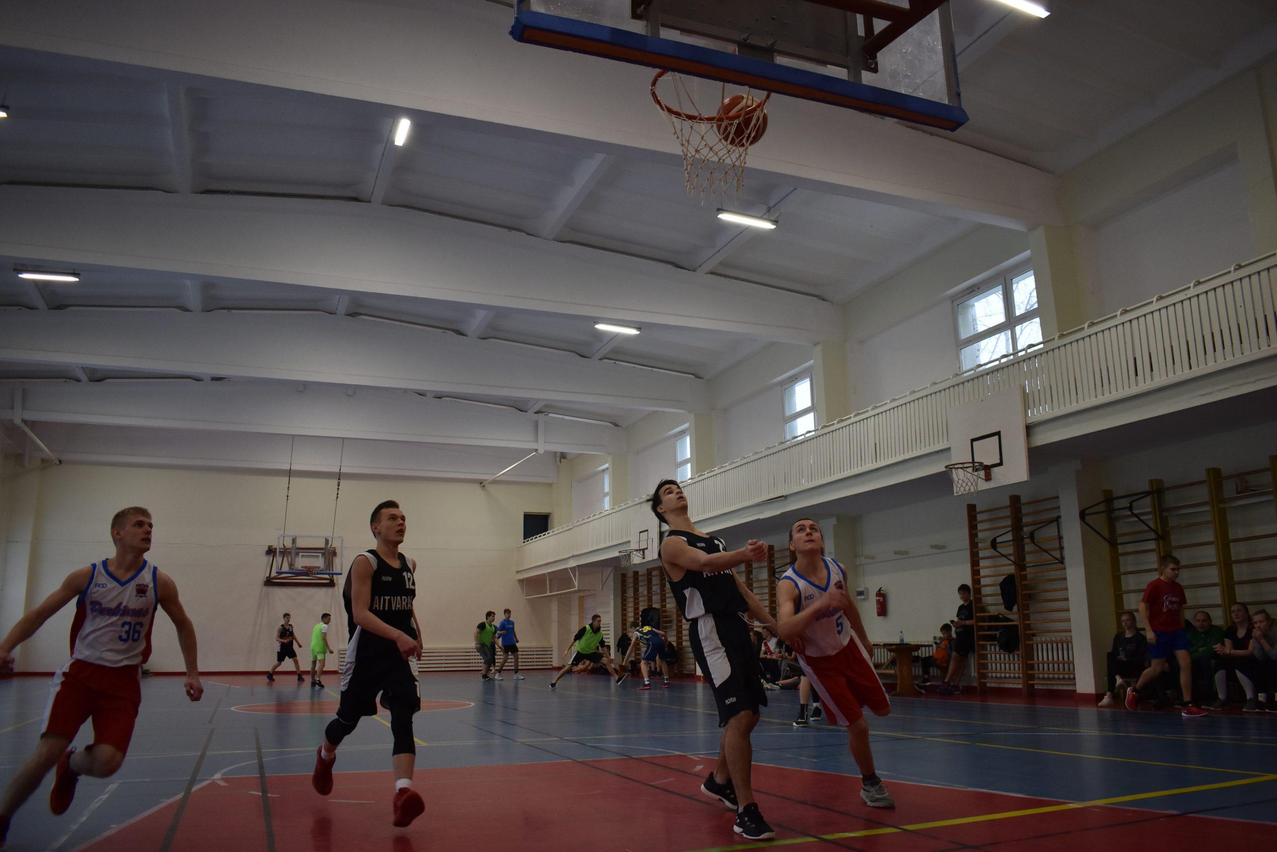 Ignalinoje krepšinio 3×3 varžybose susirungė jaunieji pasieniečiai