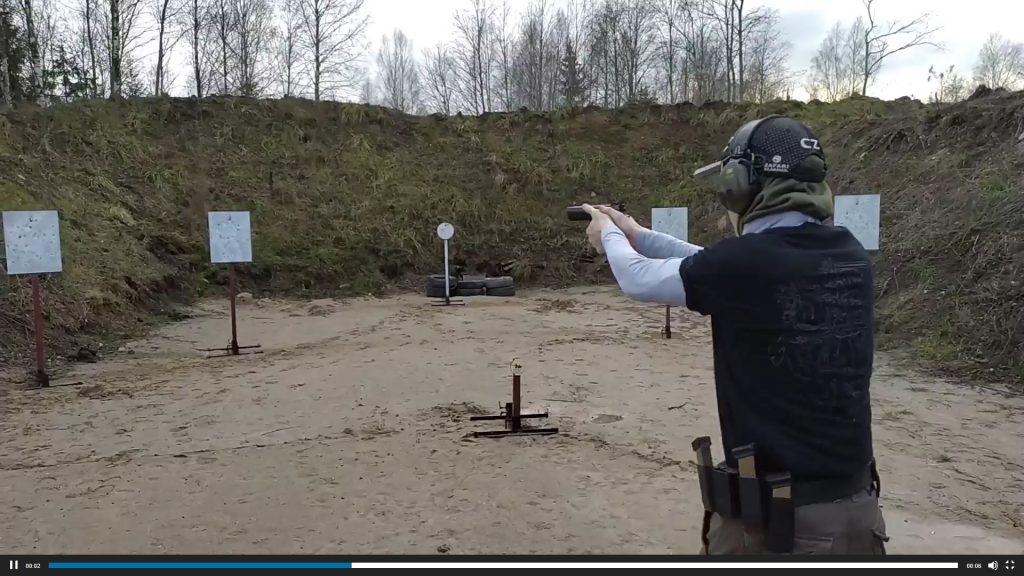 Tarptautinėse šaudymo varžybose – sau lygių neturintis JPB narys (video)