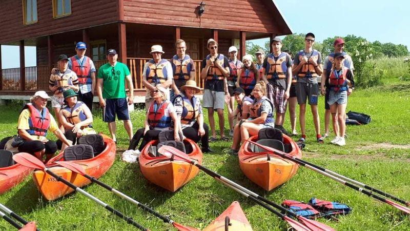 JPB nariai su vasara pasisveikino linksmai