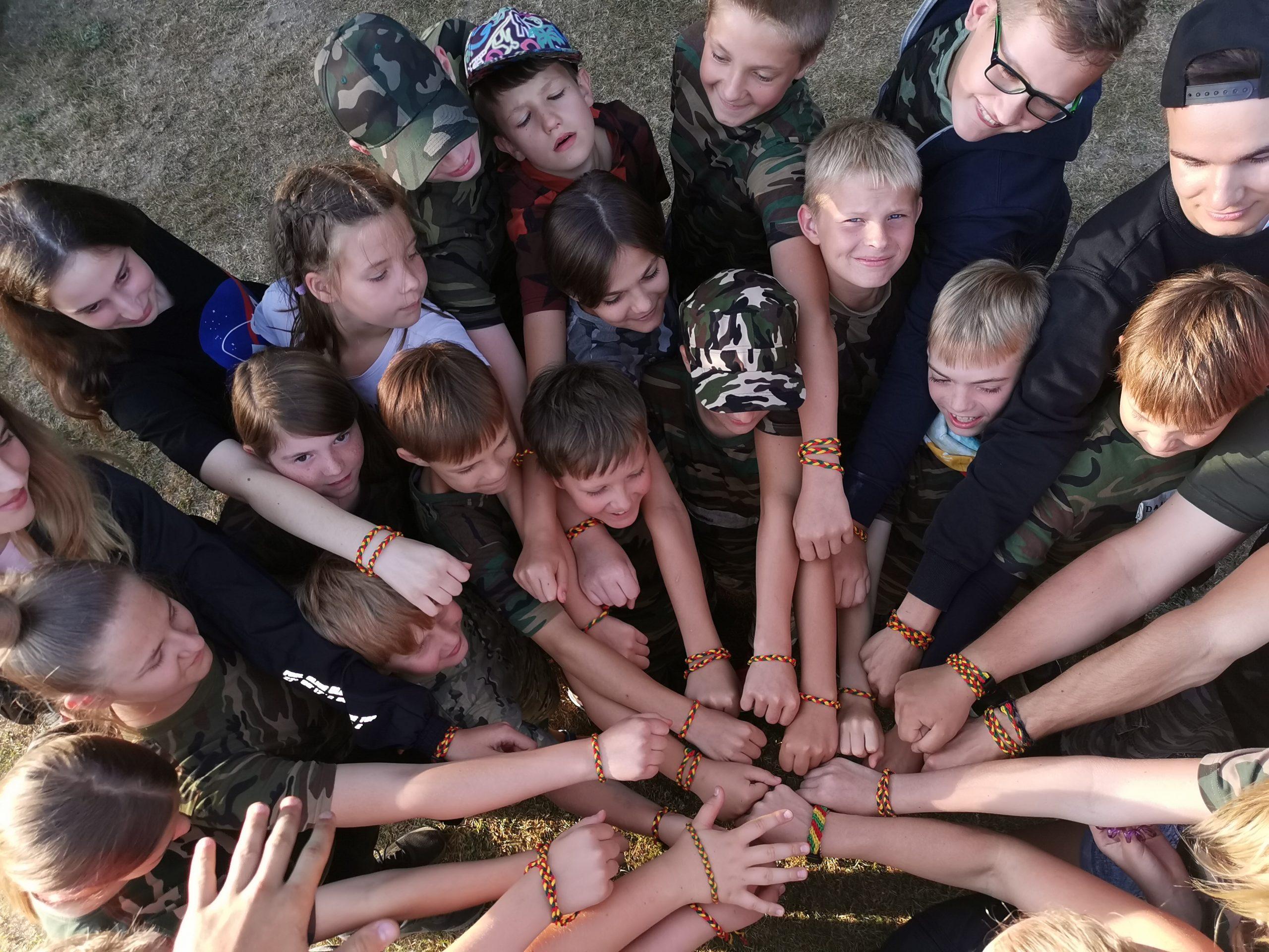 Šakių apylinkėse vėl praūžė Jaunųjų pasieniečių vasaros stovyklos (I)