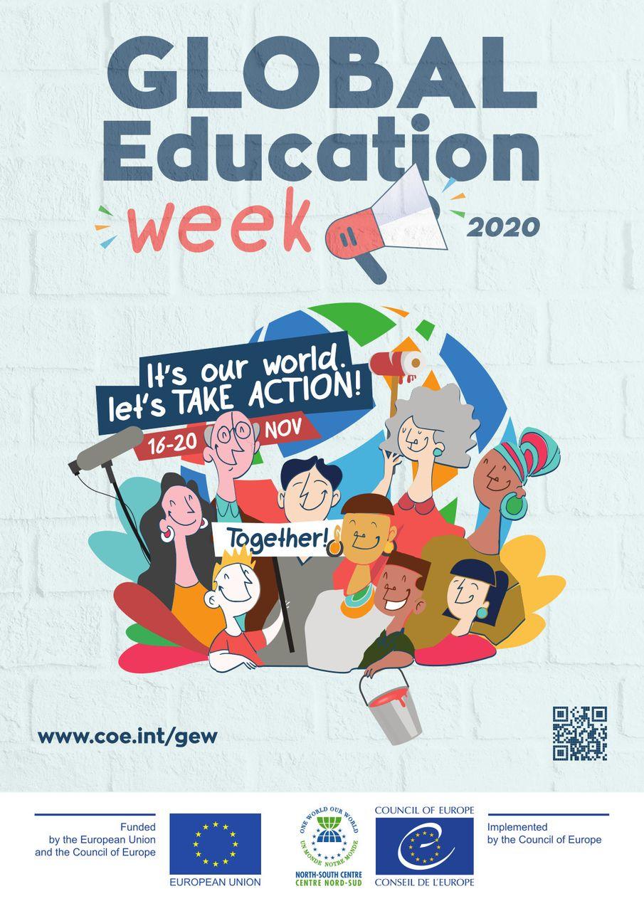Globalaus švietimo savaitė 2020: Vardan pasaulio – veikime kartu! [per ZOOM platformą]