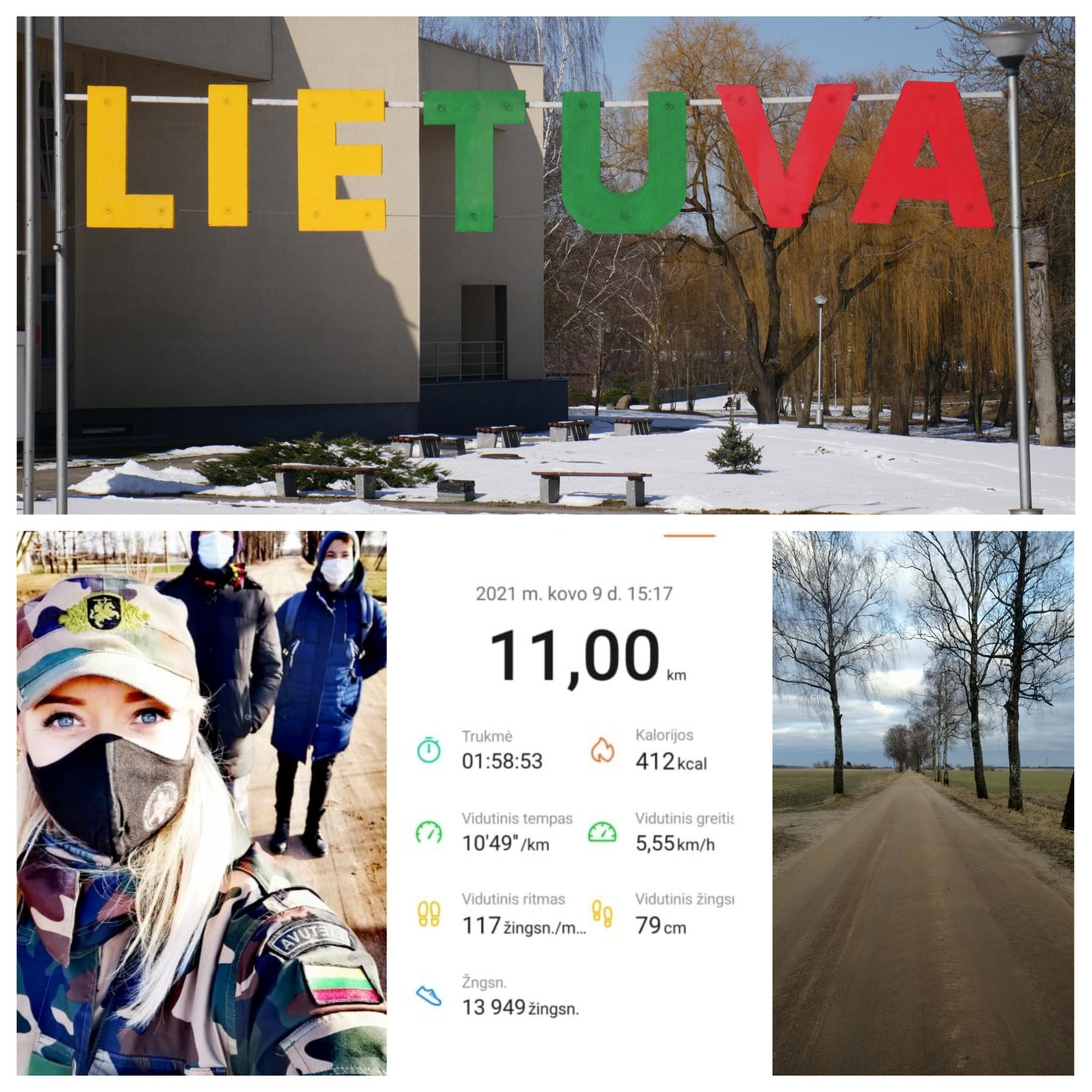 Jaunieji pasieniečiai sveikina su Lietuvos Nepriklausomybės atkūrimo diena!