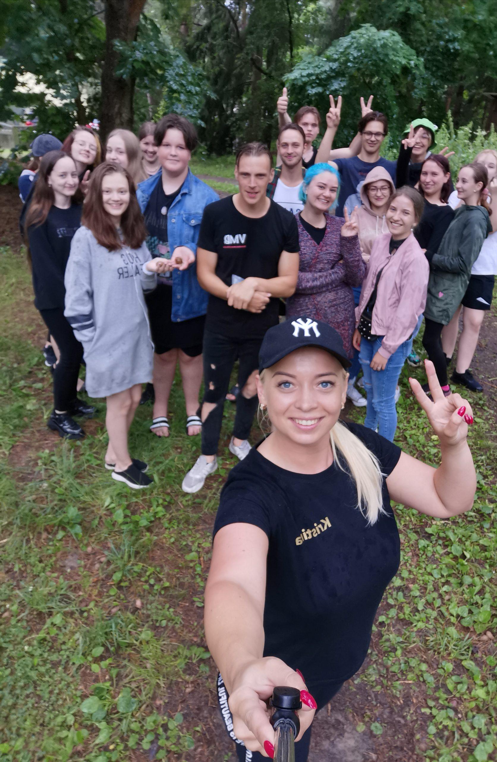 Vilkaviškio JPB nariai vasaros stovykloje Vištytyje