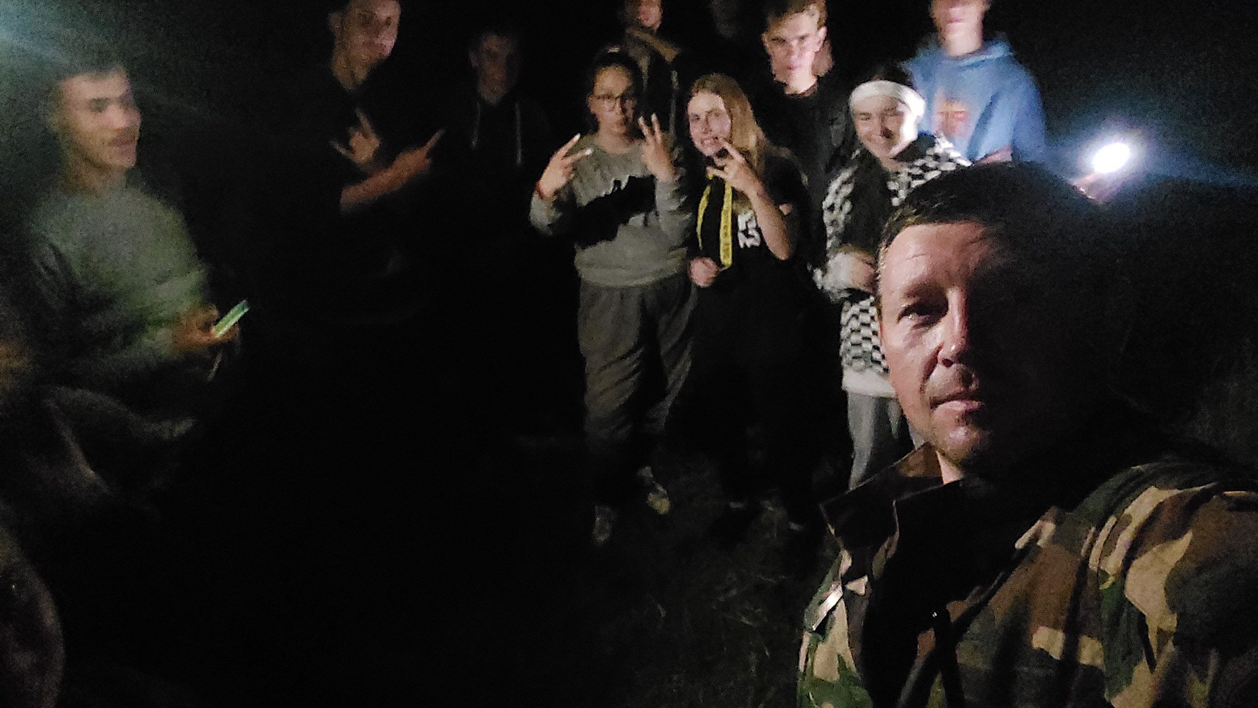 JPB narių naktis Tverečiaus pasienio užkardos veikimo teritorijoje
