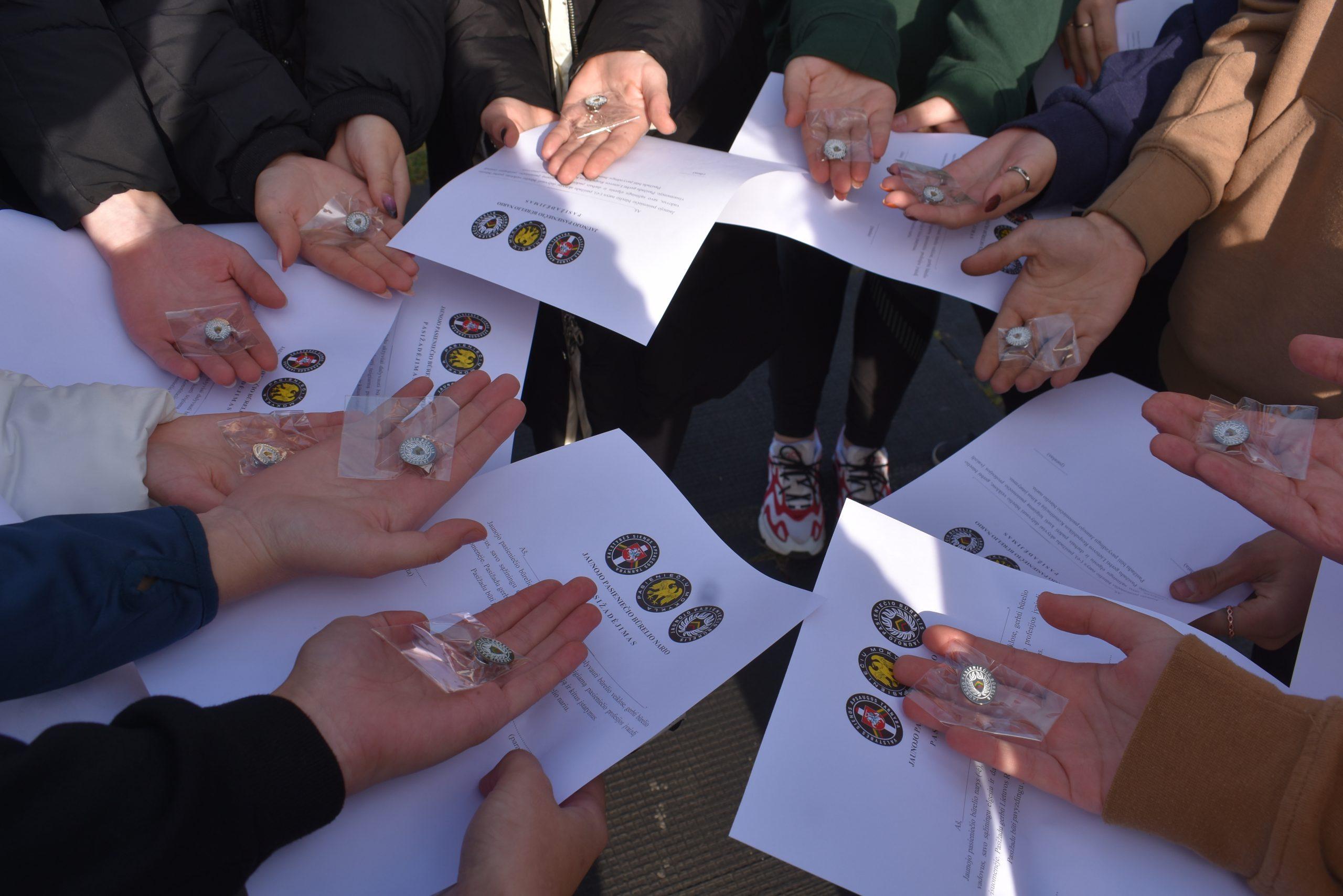 Švenčionių Zigmo Žemaičio gimnazijos JPB papildė nauji nariai